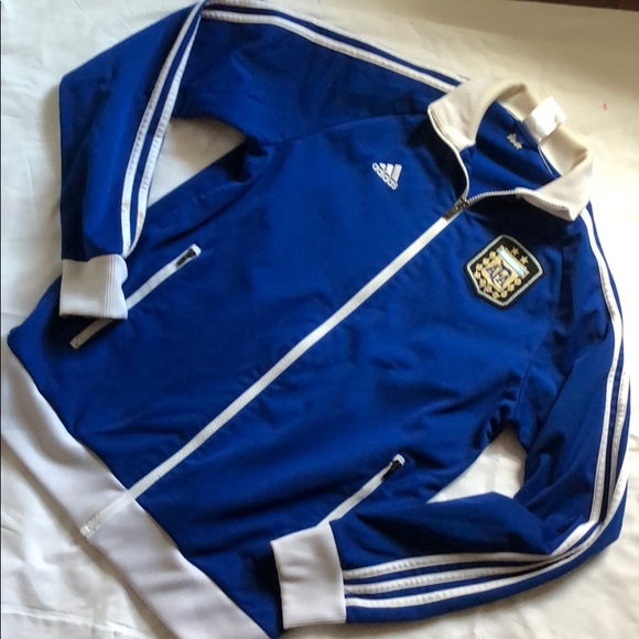 adidas Other - Rare Argentina National Team Full-Zip Track Jacket